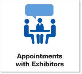 Appointments with Exhibitors